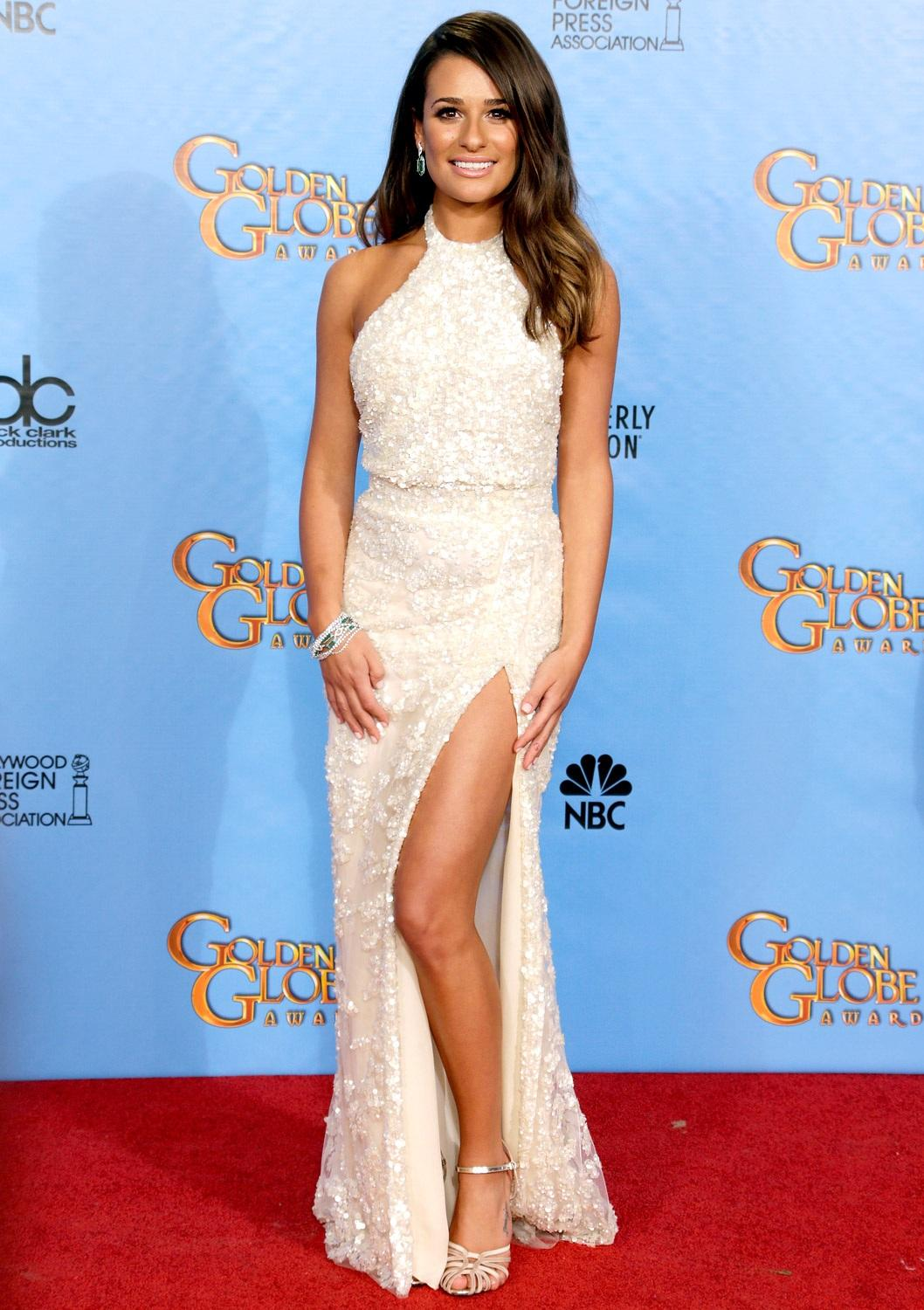 Lea Michele Zoom Body